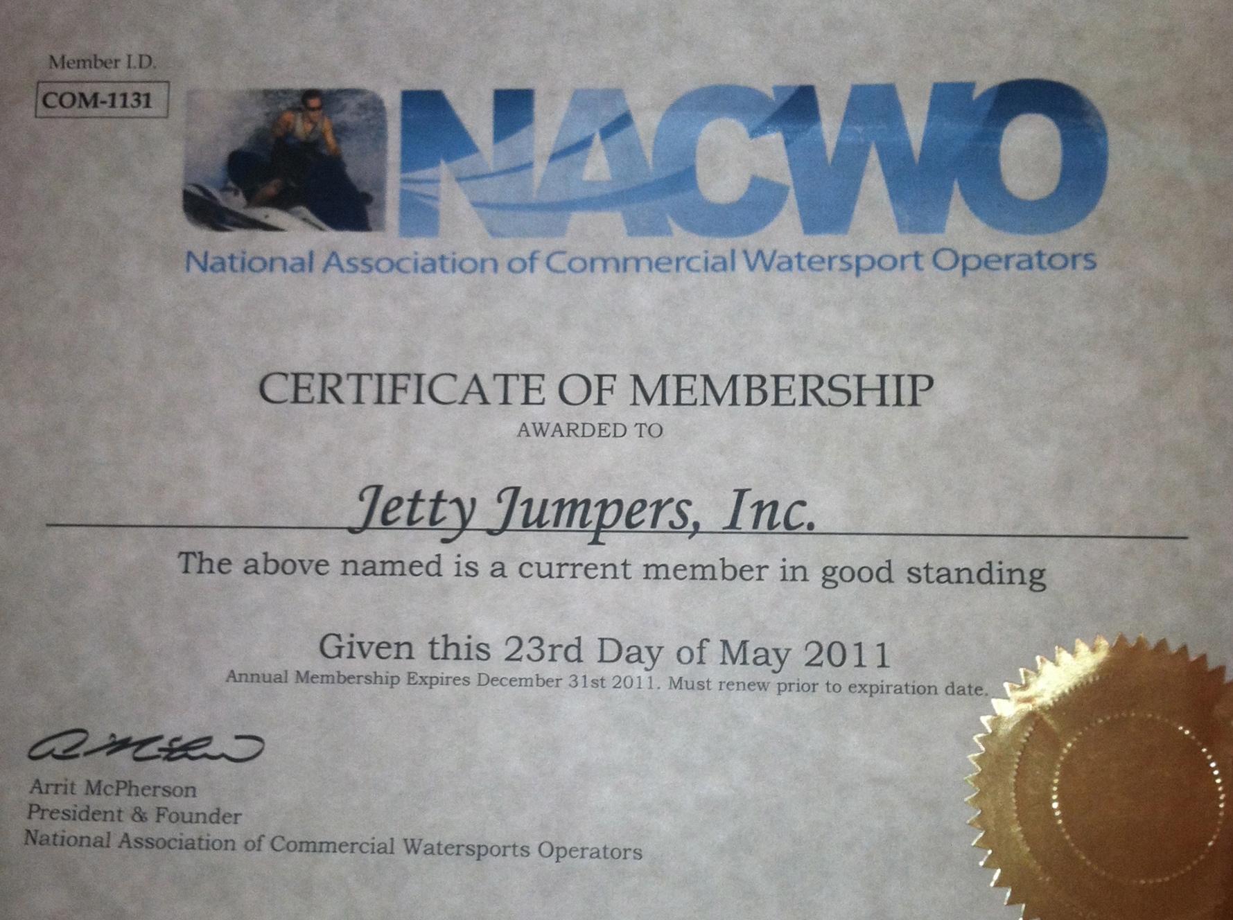 NACWO Member