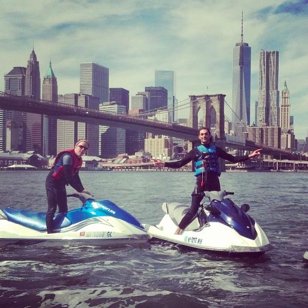 Jet Ski Brooklyn Bridge