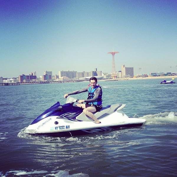 Jet Ski Coney Island Shore